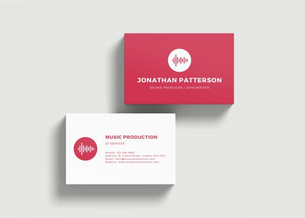 450gsm Laminated Business Cards