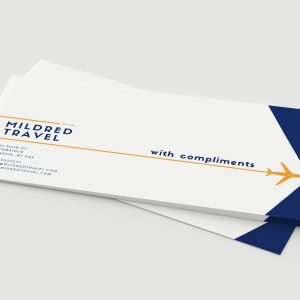 100gsm Compliment Slips