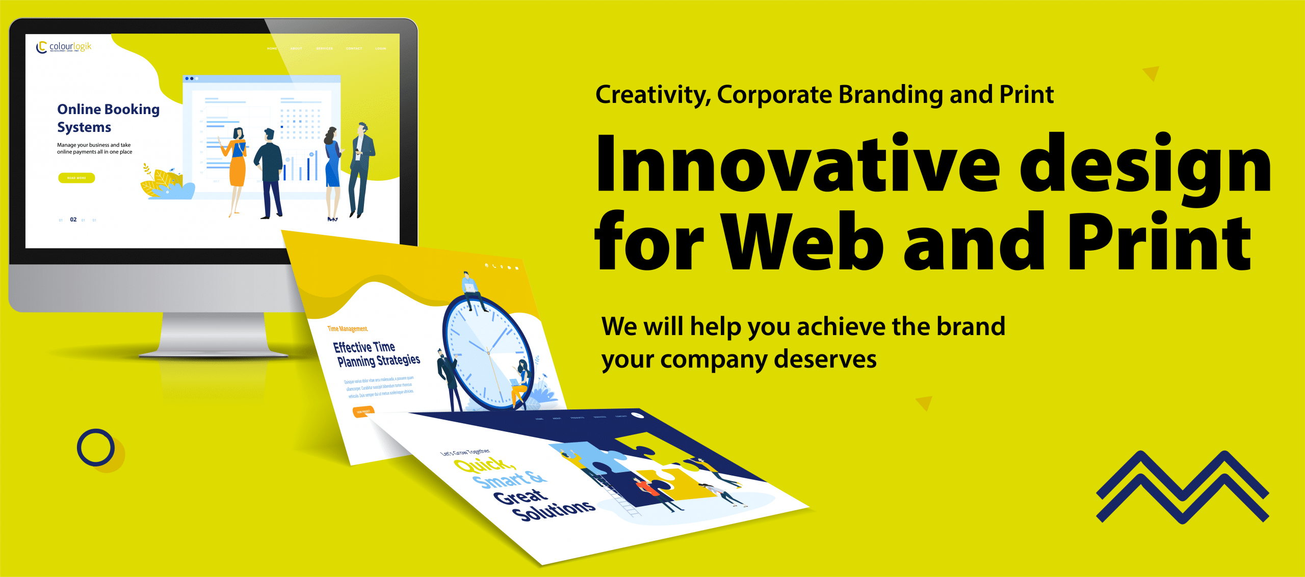 web design company Dudley banner